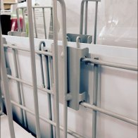 Wire Fencing Divider Keeper in Power Aisle