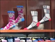 Alfani Gold Toe Socks Stepping Out 3