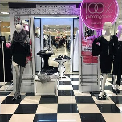 Bloomingdales In-Store Pergola 1