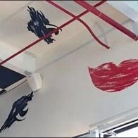 Boutique Ceiling Art 3