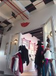 Look Up: Boutique Ceiling Art