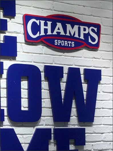 Champs We Know The Game Branded Window 3