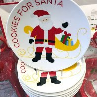 Christmas Dishware To the Front