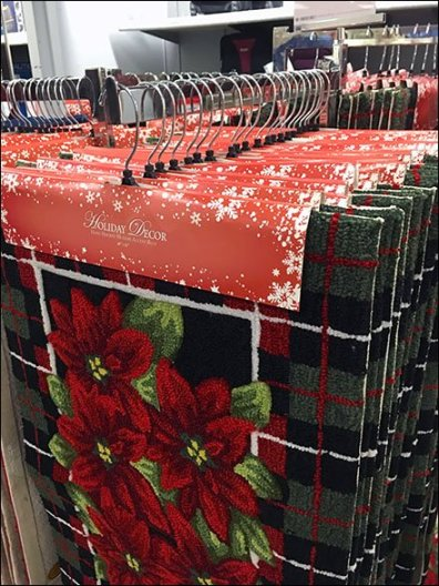 Clothes Hangered Christmas Mats 2