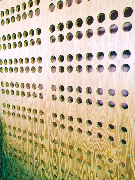 Chipotle Custom Pegboard or Plug-In Pattern