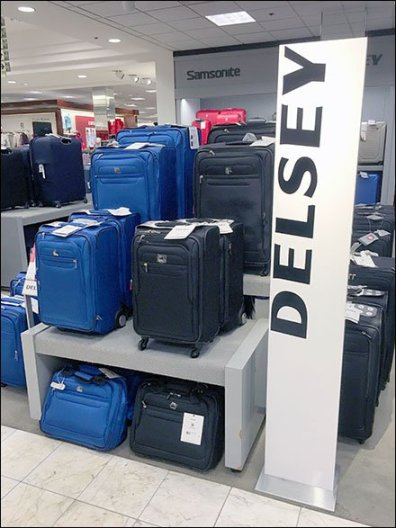 Delsey Luggage Branding Overshadowed