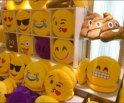 Emoticon Sales At Mall Shelf Edge 1