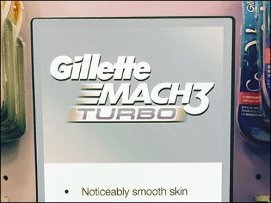 Gillette Mach3 Turbo 3