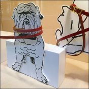Hermes Foamcore Fashion Dogs