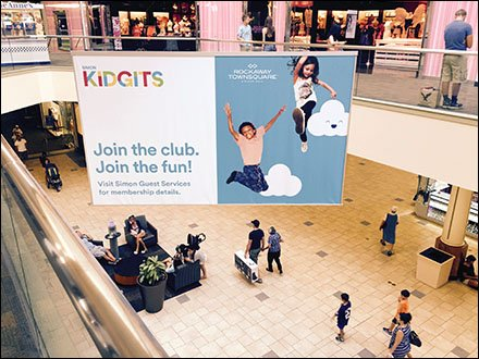 Kidgets Amenity Advertising At The Mall