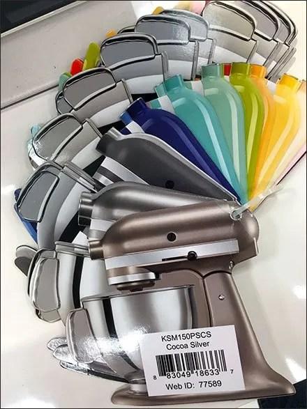 Kitchen Aid® Die-Cut Color Swatches