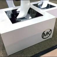 Michael Kors Branded Retail Pedestals