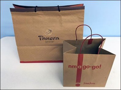 Neiman Marcus vs Panera Bread Portion Control