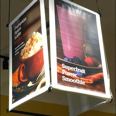 Panera Bread® Three-Sided Ceiling Banner