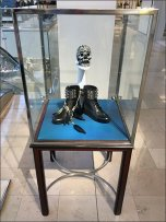 Skull and Punk Rock Boots Halloween Sale