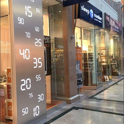 Sleep Number Store Branding 1