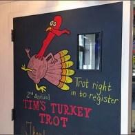 Turkey Trot Thanksgiving Chalkboard 3