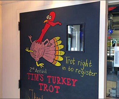Turkey Trot Thanksgiving Chalkboard 3