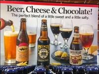 Beer, Cheese, and Chocolate Cross Merchandising