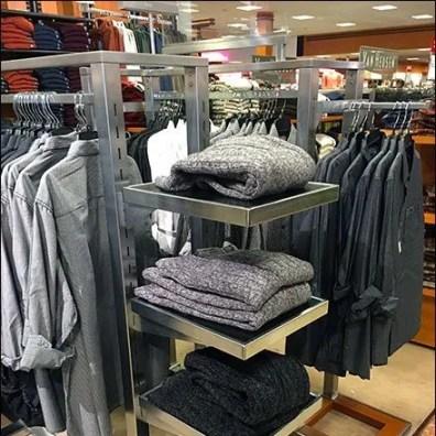 Stainless Steel Rack-End Shelves