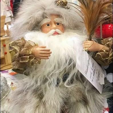 Father Christmas Pals Around Closeup