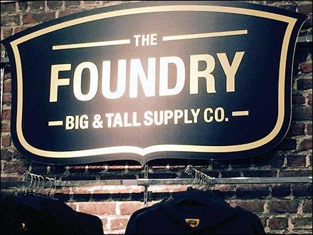 Foundry Big and Tall Brand Partnering