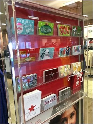 Give Them The Stars Macys Gift Card Display