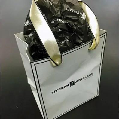 Littmans® Be-Ribboned Branded Bag