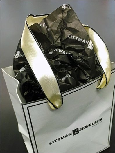 Littmans Be-Ribboned Bag 2