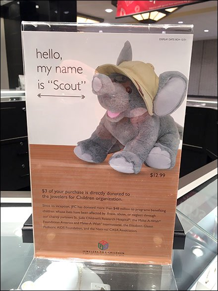 Littmans Plush Toy Named Scout