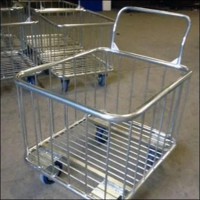 Loredo Push Bin Trolley
