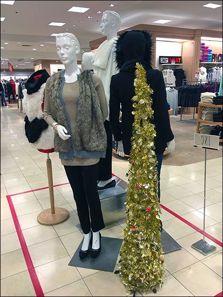 Best of Christmas Tree Staging - Macy's® Minimalist Pencil Tree