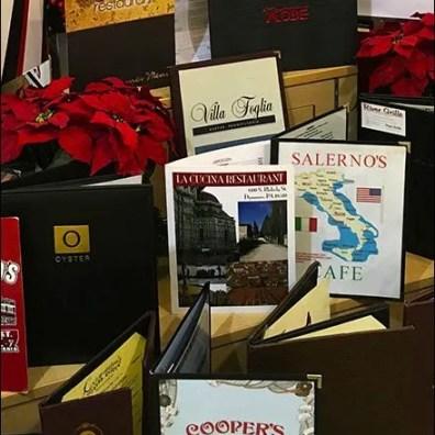 Menus Prop Christmas Gift Certificates 3
