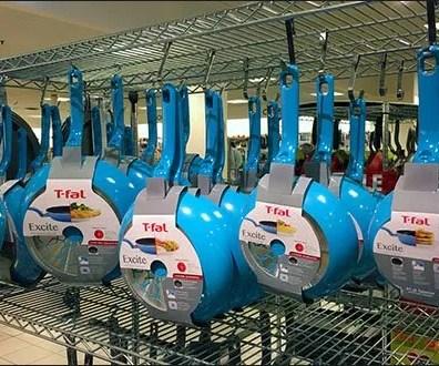 T-Fal Blue Cookware Custom S-Hooks 2