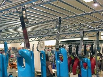 T-Fal Blue Cookware Custom S-Hooks 3