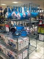 Blue T-Fal Cookware Custom S-Hooks