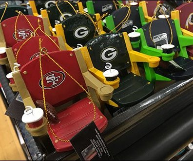NFL Branded Stadium Seat Miniatures