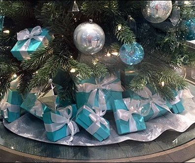 Tiffany Presents Under The Tree CloseUp
