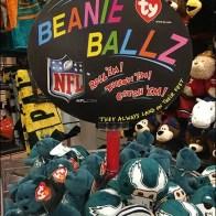 Square Spinner for Ty NFL Beanie Ballz