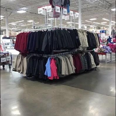 Warehouse Winter Coat Bulk Merchandising 1