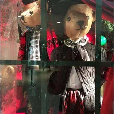 Well Dressed Teddy Bear Window 2