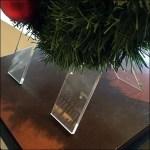 Christmas Wreath Table Stand ClaoseUp