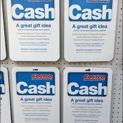 $1,000 Costco CashGift On Sale