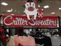Critter Sweaters Coming 2