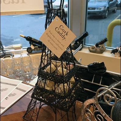 Eiffel Tower Cork Caddy 1