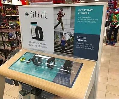 FitBit Freestanding Display Plus Floor Graphic