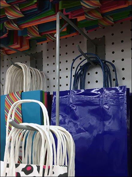 Gift Bag Drop Arm Pegboard Hook Main