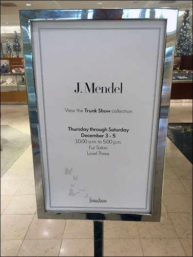 Neiman Marcus Fur Trunk Sale Main