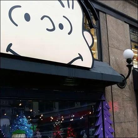 Peanuts Gang Awning Advertising at Macys® Herald Square Main