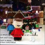 Peanuts Gang Macys Herald Square Windows Closeup